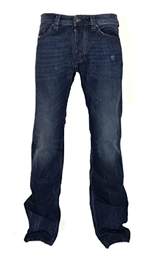 Diesel Straight-Cut Jeans LARKEE 0RM80 Dunkelblau