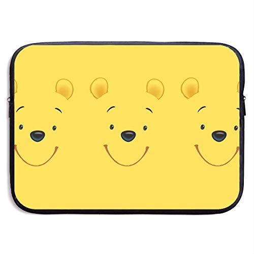 Hdadwy Laptop Sleeve Case Winnie The Pooh Notebook Tablet Bag for MacBook Air
