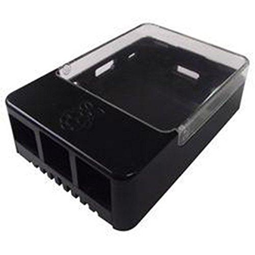 Raspberry Gehäuse für Pi Type B+/B2/B3/HAT schwarz
