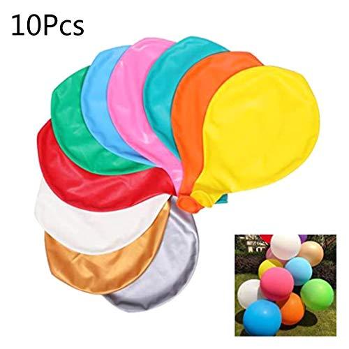 yuwei 10pcs 36 Zoll Riesenballon Runde Inflable Latex Jumbo Thick Luftballons Hochzeit Geburtstag Partei-Dekoration