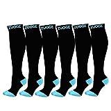 5XL Women's Sports Compression Socks