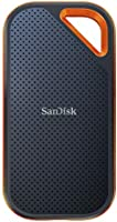 SanDisk 500GB Extreme PRO Portable External SSD - Up to 1050MB/s - USB-C, USB 3.1 - SDSSDE80-500G-A25,Aluminum...