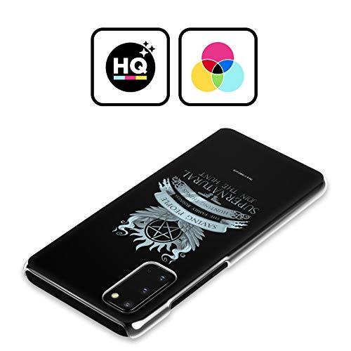 Head Case Designs Offizielle Supernatural Saving People Logo Vektoren Harte Rueckseiten Handyhülle Hülle Huelle kompatibel mit Samsung Galaxy Note9 / Note 9