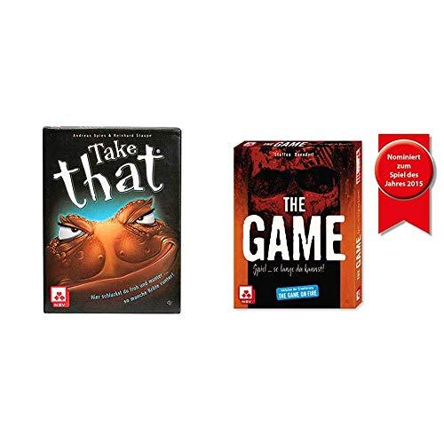 NSV - 4043 - TAKE That - Ärgerspiel - Kartenspiel & 4034 - The Game - Kartenspiel