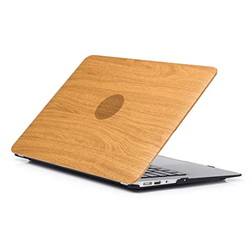 Laptop Case for MacBook Perfectly protects Wood Texture 03 Pattern Laptop PU Leather Paste Case for MacBook Pro 13.3 inch A1278 (2009-2012)