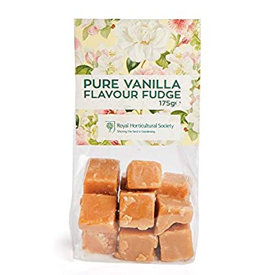 vanilla fudge bag from the rhs - delicious gift, birthday or treat, 175g - pack of 2 Vanilla Flavoured Fudge Bags from The RHS, 175g – Pack of 2 41y2SWe6RZL