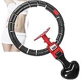 Smart Hula Hoop Ajustable Recuento Automático Neumáticos 2-en 1 Fitness Pérdida de Peso y Masaje para Fitness Sport Home Office Formación Abdominal