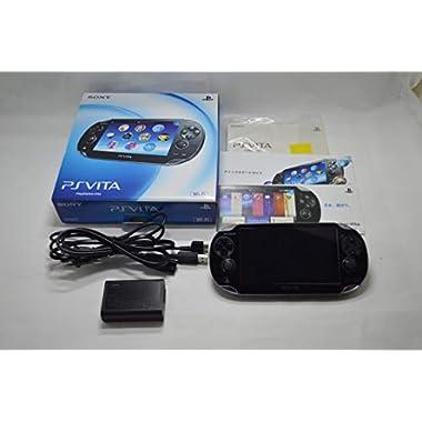 PlayStation Vita (PlayStation vita) Wi-Fi model Crystal Black (PCH-1000 ZA01)japan import