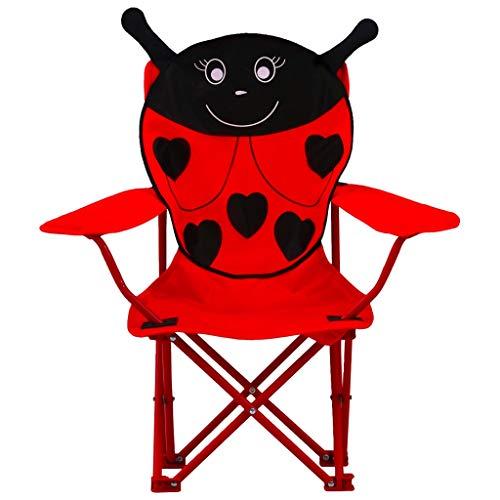 GOTOTOP 2 piezas niños plegable picnic playa camping jardín pesca silla con...