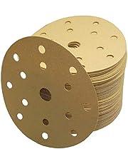 Discos de lija abrasivos HANDIT ECO con velcro, diametro Ø150 mm 15 aspiraciones (GRANO 60, 50 unidades)