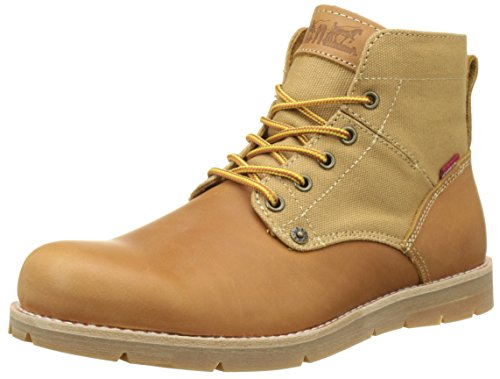 Levi's Jax Botas Desert Hombre, Amarillo (Medium Yellow 74