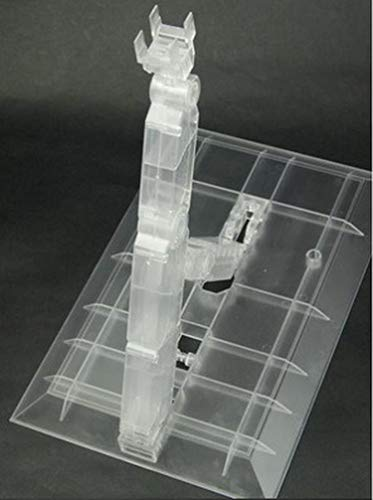 Action Base Suitable Display Stand for PG MG 1/60 1/100 Gundam,(1/60 Scale), PG 00 Raiser, MKII All Compatible (Clear)