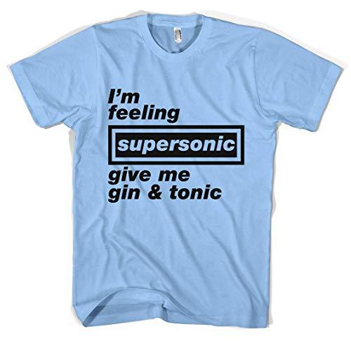 QTRDH Supersonic Oasis T-Shirt Unisexe Toutes Les Tailles Couleurs