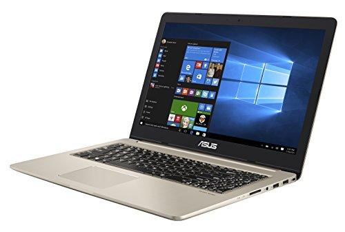 Asus VivoBook Pro Notebook, 15.6' 4K/UHD IPS, Intel Core i7-7700HQ, RAM 16 GB, HDD da 1TB e SSD da 512 GB, NVidia GTX1050 [Layout Italiano] [Italia]