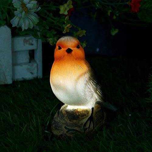 Vogel-Solarleuchten, LED-Licht, Gartendekoration, solarbetrieben, dekorative Tier-Lichter, wasserdicht, für den Außenbereich, Hof, Terrasse