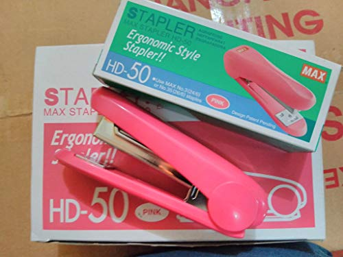Max Stapler HD-50 with 2 Boxes Max Staples No.3-1M (up to 30 Sheets of Paper) Photo #4