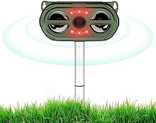 Cat Repellant Garden,Cat Repellent Ultrasonic, 5 Modes,Infrared Sensor,Cat...