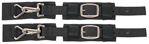 Harry's Horse 32209005-05 Set dubbele snelsluitingen voor winterdekens, zwart