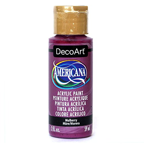 DecoArt Americana Acrylic Paint, 2-Ounce, Mulberry
