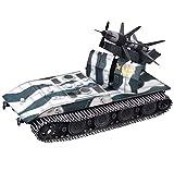 CMO Maqueta Tanque de Guerra, E-100 Rheinmetall-Borsig Air Defense Missile Alemania Metal Militares Escala 1:72, Juguetes y Regalos para Niños, 4,7 x 3,1 Pulgadas