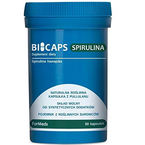 Bicaps Spirulina Hawaiian 530mg 60 portions 60 Capsules ForMeds