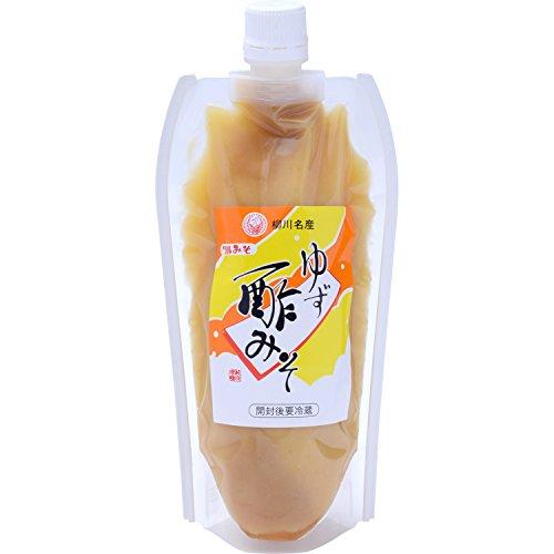 鶴味噌醸造 ゆず酢みそ チューブ 360g