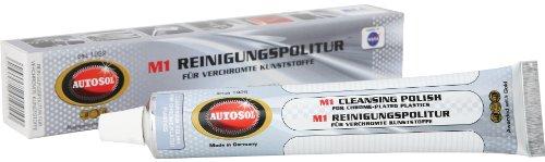 Autosol 01 001910 M1 Reinigungspolitur für verchromte Kunststoffe, 75 ml