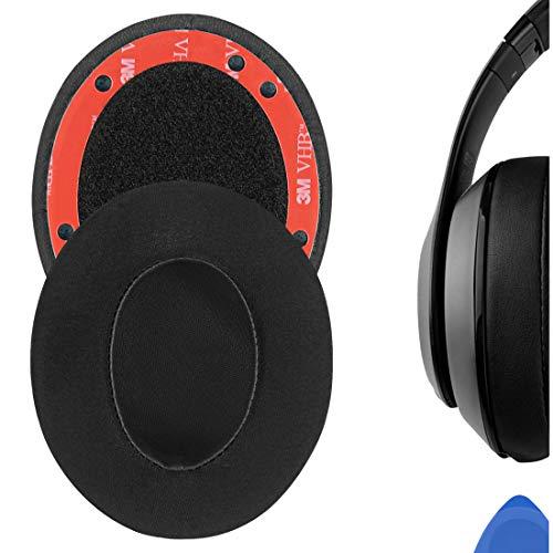 Geekria Sport Cooling-Gel Replacement Ear Pads for B Studio 3 Wireless, Studio 3.0 Wireless (A1914) Headphones Ear Cushions, Headset Earpads, Ear Cups Repair Parts (Black)
