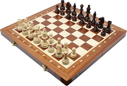 チェスジャパン 木製チェスセット トーナメントNo.4 41cm