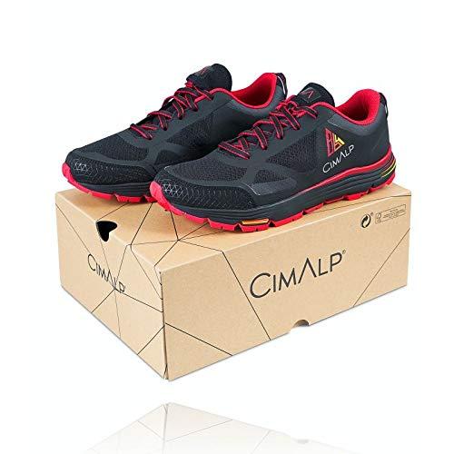 Cimalp 864 Drop Control - Zapatillas Trail Running a Drop Progresivo v2.0, Negro, 43: Amazon.es: Deportes y aire libre