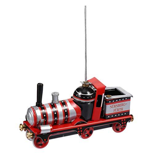 TOYANDONA Locomotiva Treno Ornamento Ferro Natale Treno Decorazione Vintage Giocattolo di Latta Decorazioni Natalizie da Appendere