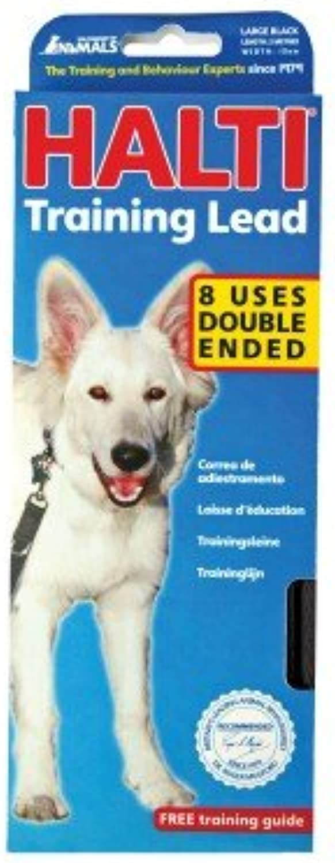 Bulk Buy x6  Co of Animals  Halti Training Lead Black