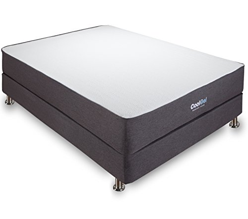 Classic Brands Cool Gel Ventilated Memory Foam 10.5-Inch Mattress - Full