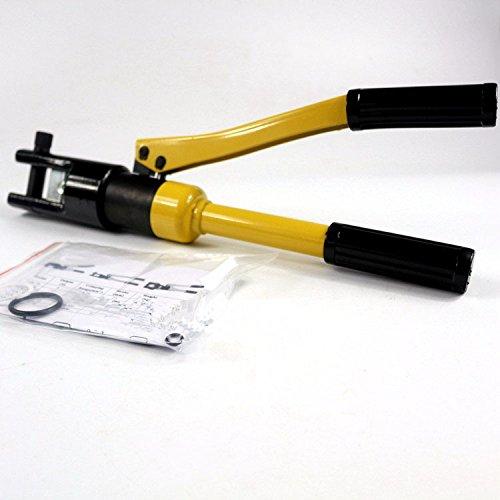 MABELSTAR Hydraulic Crimping Tool Hydraulic Compression Plier Hydraulic Crimping plier YQK-120 RANGE 10-120MM2 Hydraulic Plier