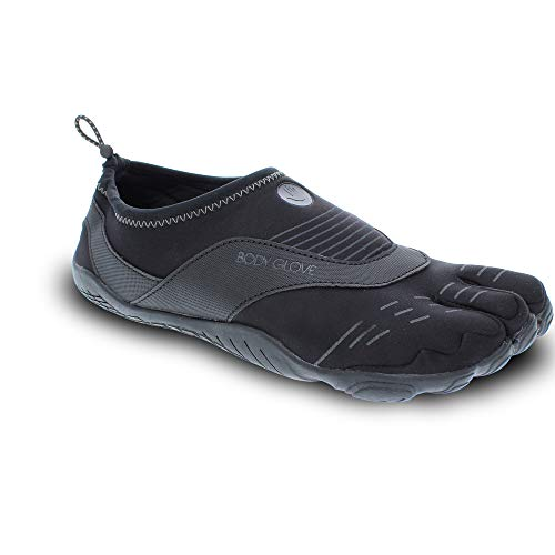 Body Glove Men's 3T Barefoot Cinch Water Shoe, Black/Indigo, 11