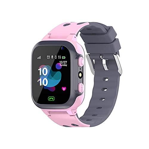 Reloj Inteligente Niño ZWRY Relojes para niños Llamada Reloj Inteligente para niños para niños SOS Reloj Inteligente a Prueba de Agua Reloj Ubicación de la Tarjeta SIM Reloj para niños niño niña