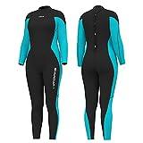 Hevto Wetsuits Women Guardian Long Sleeve Full 3mm Neoprene Scuba...