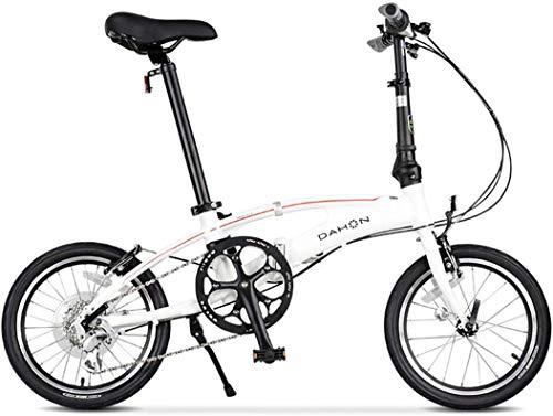 Universal City Bike 16 Zoll 8-Gang Pendler Fahrrad Falten Aluminiumlegierung Rahmen Für Unisex Erwachsene