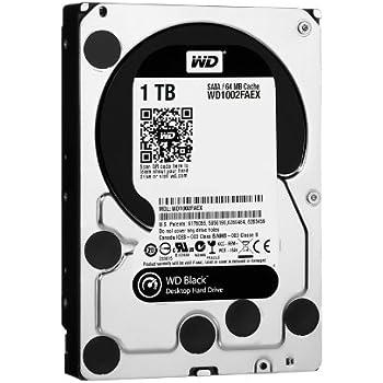 Western Digital WD2001FASS 2 TB Caviar Black SATA 3 GB//s 7200 RPM 64 MB Cache Bulk//OEM Desktop Hard Drive