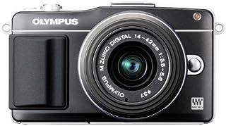 OLYMPUS ミラーレス一眼 PEN mini E-PM2 レンズキット ブラック E-PM2 LKIT BLK