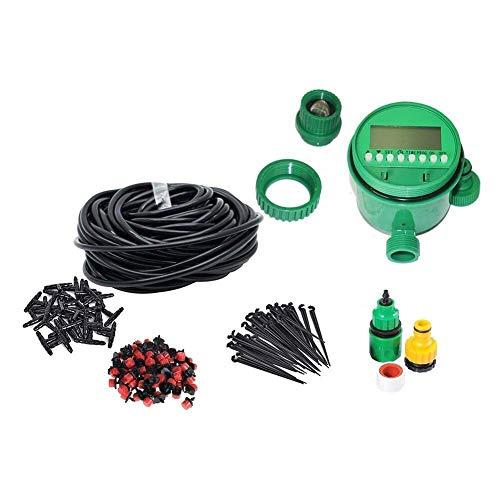 Sistema de riego de jardín Sistema de Kits Ajustables de Riego por Riego por Goteo de Micro Flow Kits de Riego Automático for Manguera de Jardín (25M)