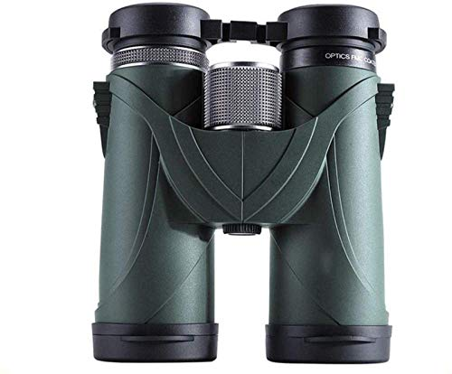 ZHCJH HJTLK 12x42 Binoculares Espejo de observación de Aves de Gran Aumento Telescopio Esencial de Concierto de Viaje al Aire Libre