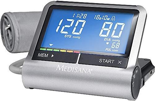 Medisana CardioCompact - Tensiómetro de brazo con despertador y conexión a...