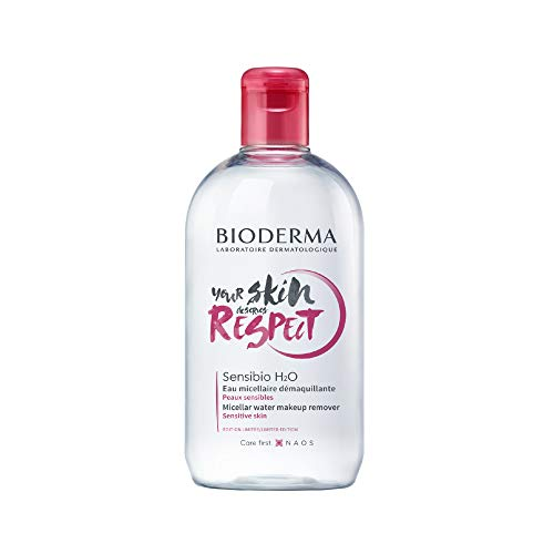 Limited Edition - Bioderma - Sensibio H2O - Micellar Water - Cleansing and Make-Up Removing - Refreshing feeling - for Sensitive Skin