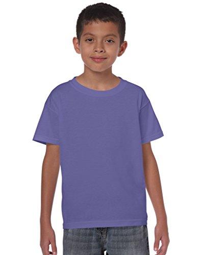 T-Shirt Kids Heavy , Farbe:Purple;Größe:XL