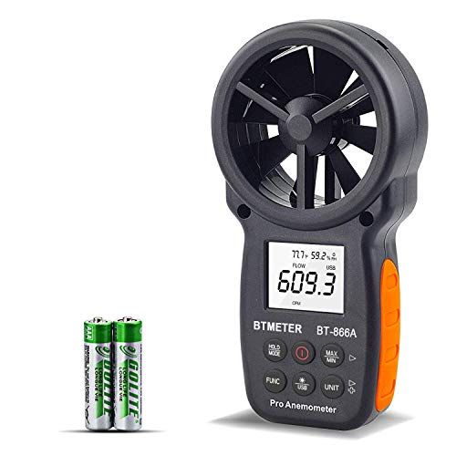 Light Anemometer 850070 Thermometer Combo Meter Humdity