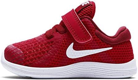 Nike Revolution 4 (TDV), Zapatillas de Gimnasia Unisex bebé, Rojo (Gym Red/White/Team Red/Black 601), 19.5 EU