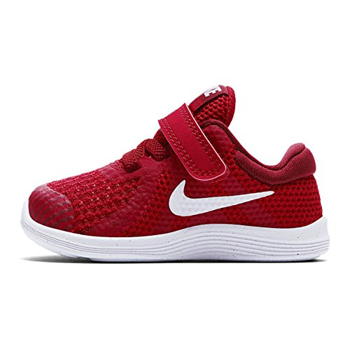 Nike Revolution 4 (TDV), Pantofole Bambino, Rosso (Gym Red/White-Team R 601), 19.5 EU