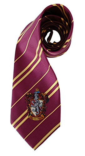 Harry Potter House Gryffindor Costume Cosplay Necktie
