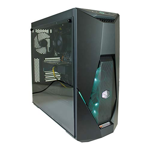 dcl24.de [11964] Gaming PC RGB K500 AMD Ryzen 5 3600X 6x3.8 GHz - 480GB SSD & 2TB HDD, 32GB DDR4, RTX2060 6GB, WLAN, Windows 10 Pro Spiele Computer Rechner